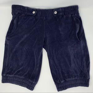 Patricia Pepe Terry Cloth Jogger Bermuda Shorts